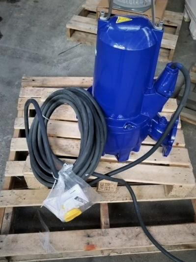 Image SULZER XFP100E-CB1.5-PE56/4 Submersible Pump - 7.5 HP, New 1447794