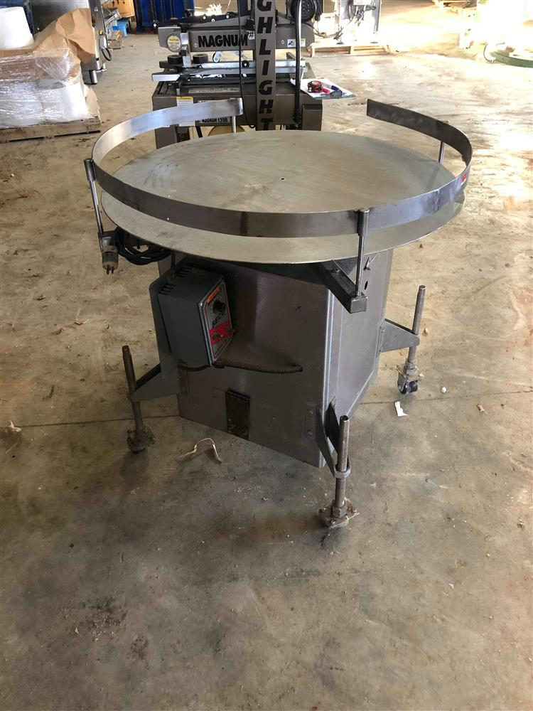 Image Turn Table - Stainless Steel 1447832