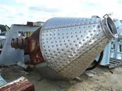 Image GEMCO Double Cone Vacuum Dryer - 100 Cu. Ft. Working Capacity 1448067