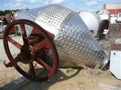 Image GEMCO Double Cone Vacuum Dryer - 100 Cu. Ft. Working Capacity 1448069
