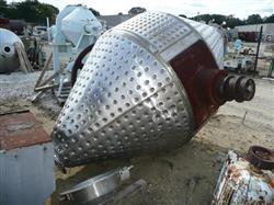 Image GEMCO Double Cone Vacuum Dryer - 100 Cu. Ft. Working Capacity 1448070