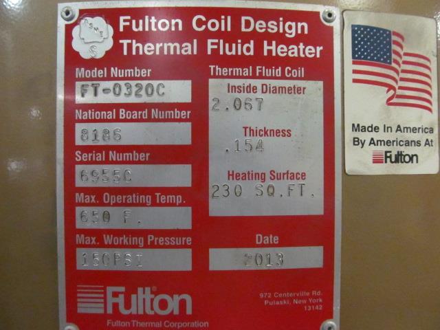 Image FULTON Thermal Fluid Heater - 3.2 MMBTU 1517235