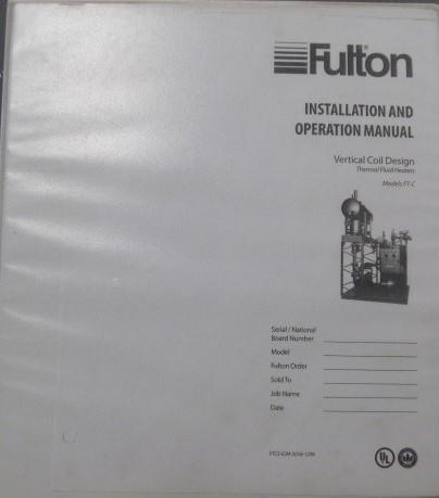 Image FULTON Thermal Fluid Heater - 3.2 MMBTU 1517247