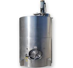 Image 1,200 Gallon JV NORTHWEST INC. Vertical Mix Tank - Stainless Steel 1496287