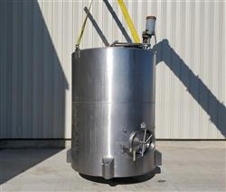 Image 1,200 Gallon JV NORTHWEST INC. Vertical Mix Tank - Stainless Steel 1496289