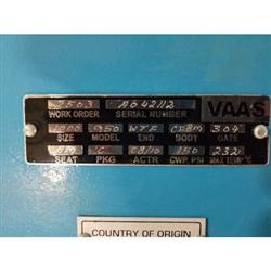 Image 10in BRAY/VAAS 950 Unidirectional Knife Gate Valve 1449983