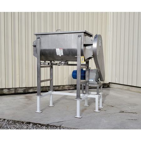 Image 25 Cu. Ft. AARON PROCESS EQUIPMENT Ribbon Blender - Sanitary Stainless Steel 1449420