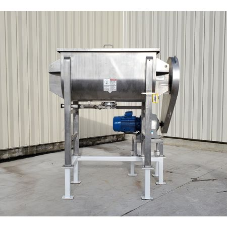 Image 25 Cu. Ft. AARON PROCESS EQUIPMENT Ribbon Blender - Sanitary Stainless Steel 1449421