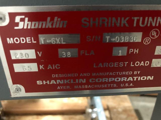 Image SHANKLIN T6XL Shrink Tunnel 1449455