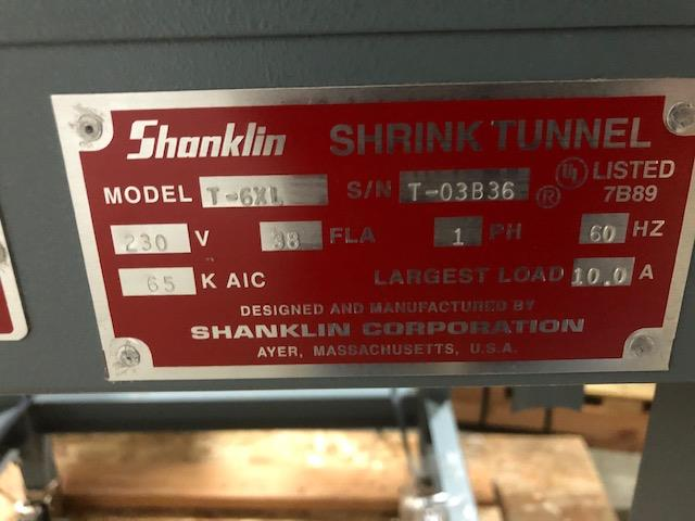 Image SHANKLIN T6XL Shrink Tunnel 1449456