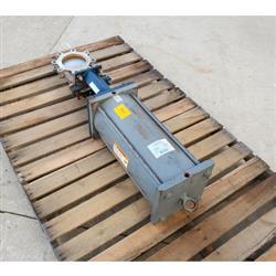 Image 6in ITT ENGINEERED VALVES C67 Fabri-Valve Flanged Knife Gate 1449668