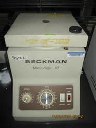Image BECKMAN Microfuge 12 Laboratory Centrifuge 1449799