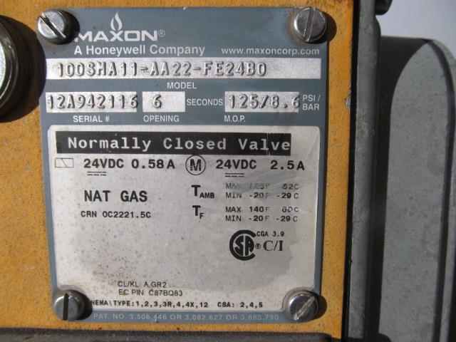 Image AEREON Ultra-Low Emissions Burner 1517302
