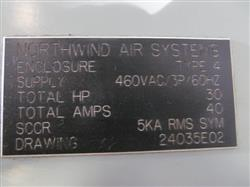 Image DUROVAC Industrial Vacuum System with GARDNER DENVER-SUTORBUILT Vacuum Pump 1517322