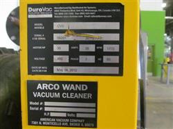 Image DUROVAC Industrial Vacuum System with GARDNER DENVER-SUTORBUILT Vacuum Pump 1517332