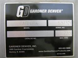 Image DUROVAC Industrial Vacuum System with GARDNER DENVER-SUTORBUILT Vacuum Pump 1517334