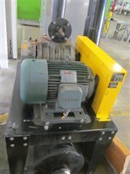 Image DUROVAC Industrial Vacuum System with GARDNER DENVER-SUTORBUILT Vacuum Pump 1517344