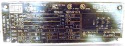 Image 200 HP WEG Explosion Proof Motor 1450657