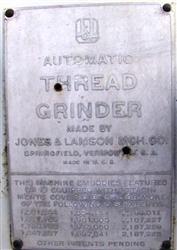 Image JONES & LAMSON MCH CO. Automatic Thread Grinder 1450974