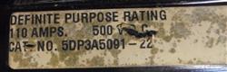Image JOSLYN CLARK DC Drive Contractor 1451036