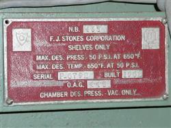 Image STOKES Vacuum Oven 1451314