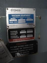 Image STOKES Vacuum Shelf Dryer 1451324
