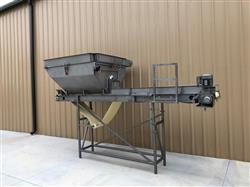 Image MTC Blender with 18in X 14ft Long Food Conveyor - Stainless Steel 1451373