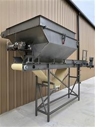 Image MTC Blender with 18in X 14ft Long Food Conveyor - Stainless Steel 1451385