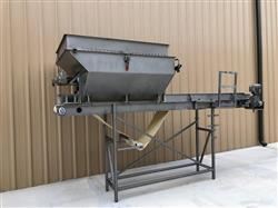 Image MTC Blender with 18in X 14ft Long Food Conveyor - Stainless Steel 1451386