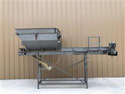 Image MTC Blender with 18in X 14ft Long Food Conveyor - Stainless Steel 1451374