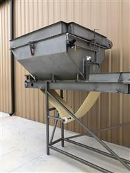 Image MTC Blender with 18in X 14ft Long Food Conveyor - Stainless Steel 1451378