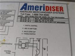 Image AMFAB Ameridiser Hot Food Merchandiser 1451523