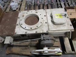 Image 12in Stock Equipment Slide Gate with Handwheel Operator 1452845