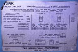 Image YORK Liquid Chiller 1453287
