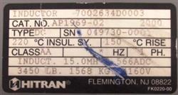 Image HITRAN Inductor 1453350