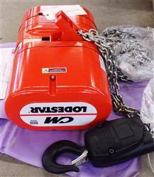 Image CM LODESTAR Electric Chain Hoist - Model RR 1453552
