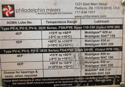 Image PHILADELPHIA MIXERS Gearbox / Mixer Driver 1453613