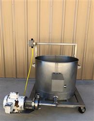 Image 60 Gallon Balance Tank with AMPCO Centrifugal Pump 1453958