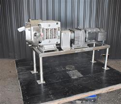 Image AMPCO ZP3-220 Rotary Lobe Pump - Stainless Steel, Sanitary 1454246