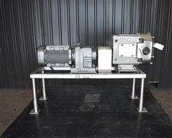 Image AMPCO ZP3-220 Rotary Lobe Pump - Stainless Steel, Sanitary 1454248
