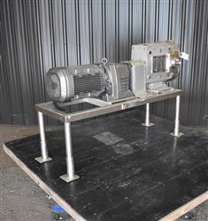 Image AMPCO ZP3-220 Rotary Lobe Pump - Stainless Steel, Sanitary 1454249