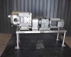 Image AMPCO ZP3-220 Rotary Lobe Pump - Stainless Steel, Sanitary 1454251