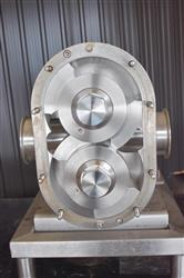 Image AMPCO ZP3-220 Rotary Lobe Pump - Stainless Steel, Sanitary 1454252