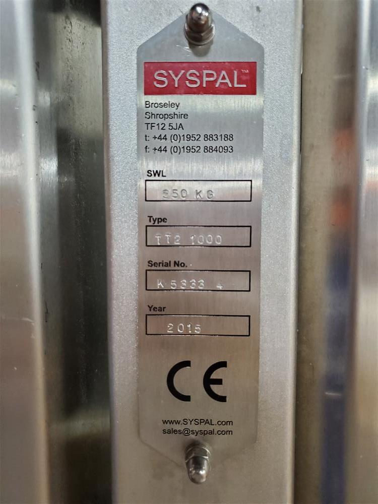 Image SYSPAL High Capacity Eurobin Tumbler 1454566