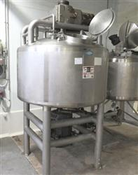Image 300 Gallon WALKER Jacketed Liquifier with Sweep Mixer 1454679