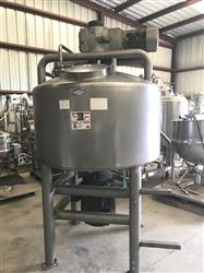 Image 300 Gallon WALKER Jacketed Liquifier with Sweep Mixer 1454686