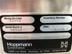 Image HOPPMANN FS40 Centrifugal Feeder Sorter Unscrambler - Stainless Steel 1454915