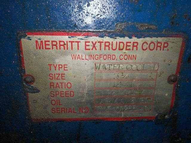 Image 3.5in MERRIT 30/1 L/D Vented Single Screw Extruder 1455095
