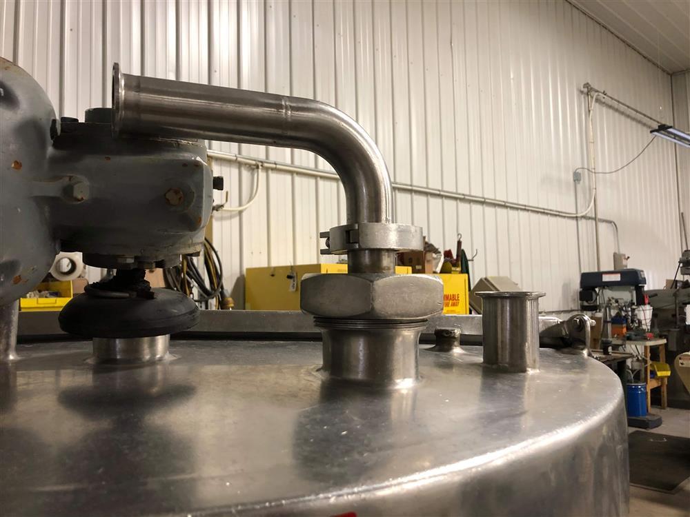 Image 150 Gallon Mixing Tank 1455525