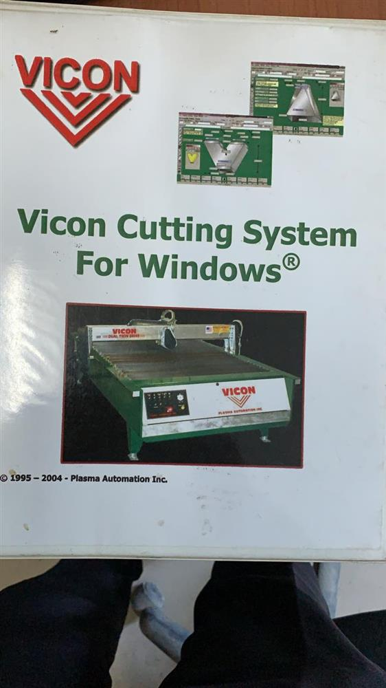 Image VICON Double Table CNC Plasma Sheet Cutter 1455638